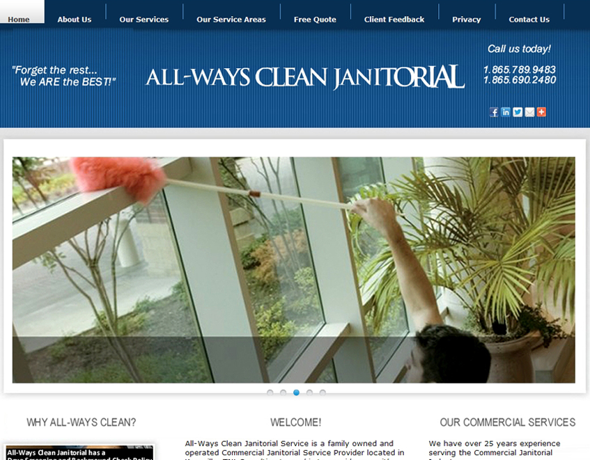 all-wayscleanjanitorial.com